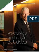 A estratégia, a educação e a bicicleta | Entrevista com Derek Abell na Revista HSM Management
