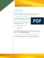 SteadyState Technical FAQ Updated