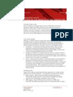 Assessing the Benefits of Cognos FSR
