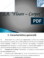 SA Floare Carpet