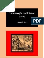 La analogía tradicional (Parte 2ª) Oscar Freire