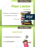 Didáctica PLAN LECTOR II SEM