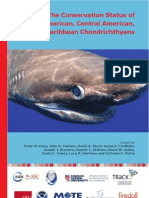 The Conservation Status of North American, Central American, and Caribbean Chondrichthyans