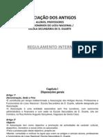 Regulamento Interno ExDD