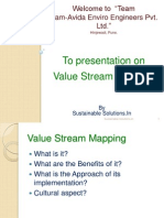 Sustainable Solutions.in - Value Stream Mapping