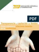 Transparencia y Captacion de Fondos