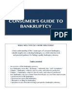 Consumer's Guide to Bankruptcy