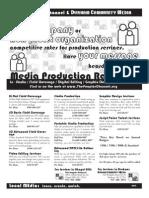 TPC/DCM18 Production Services Rate Card | 2012