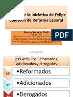 Análisis de La Iniciativa de Felipe Calderón Septiembre 2012
