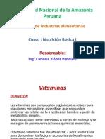 vitaminas clasificacion