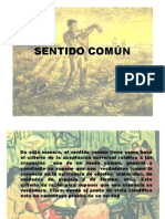 SENTIDO COMÚN