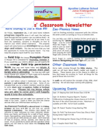 Week 5 Newsletter