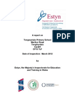 Inspection Report Tongwynlais Primary School (English)