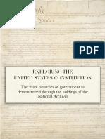 Exploring the United States Constitution