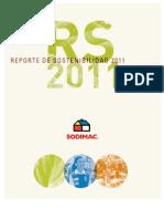 Reporte de Sostenibilidad SODIMAC 2011