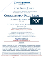 Reception with Paul Ryan