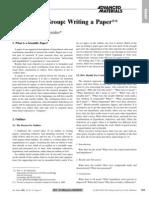 Whitesides - 2004 - Whitesides' Group Writing a Paper