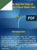 Curso de ASP.net Bajo Lenguaje de Programacion VBNet - Dia 1