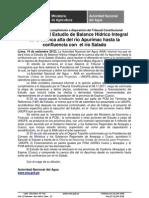 NP N° 169-2012 Estudio de Balance Hídrico