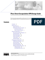 Cisco Ipsec Encap VPN Design