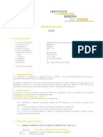 syllabus matematica aplicada