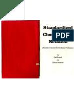 Standardized Chord Symbol Notation