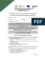 Teste Diagnostico IEFM 08092011