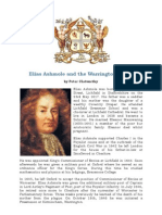 Article Elias Ashmole and the Warrington Lodge in English