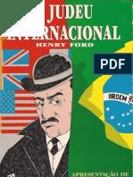 O Judeu Internacional Henry Ford