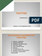 Exposicion Twitter