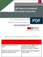 Rol del Marco Conceptual en la Información Financiera