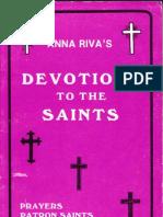 Anna Riva Devotion to the Saints