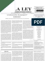 Suplemento La Ley FARN Mayo 2012
