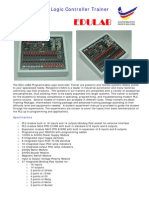 Programmable Logic Controller Trainer PLC-FPO30