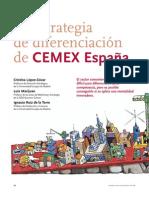 5.2. La Estrategia de Diferenciacin de Cemex