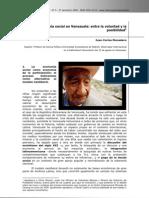 Monedero J C Economia Social en Venezuela Entre La Voluntad y La Posibilidad 2009