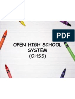 Open High School System