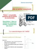 TD 2 - Utilité et utilité marginale