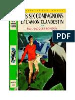Bonzon P-J 12 Les Six Compagnons Les Six Compagnons Et l'Avion Clandestin 1967