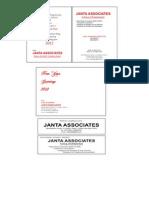 Janta Associates New Year 1
