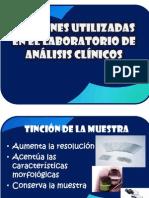 tincionesenellabdeanalisisclinicos-091017145200-phpapp02