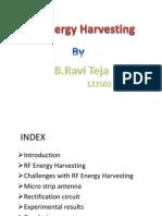 RF Energgy Harvesting