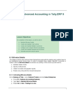 tally erp 9.0 material Advanced Accounting in tally erp 9.0