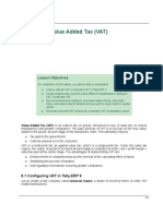 tally erp 9.0 material Value Added Tax (VAT) in tally erp 9.0