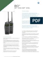 Dgr- Mototrbo Radiosdgp 6150 & Dgp 6150+