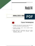 Modul 04 Analisis Break Even Point