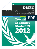 TOLMUN 2012 - DISEC Backgrounders