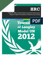 TOLMUN 2012 - HRC Backgrounders