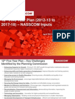 29_12th Five Year Plan_NASSCOM Inputs_April 2011