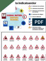 Harta indicatoarelor rutiere